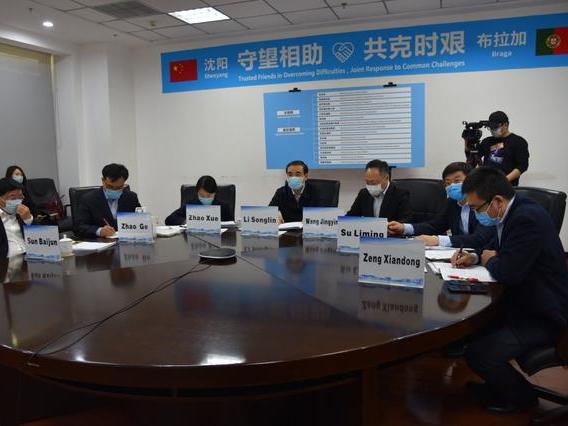 Chinese city donates anti-virus supplies to Portugal
