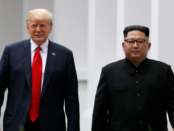 Trump sends letter to Kim to 'propel' ties, offers coronavirus cooperation