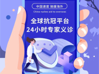 Chinese firms provide free online medical consultation for overseas people