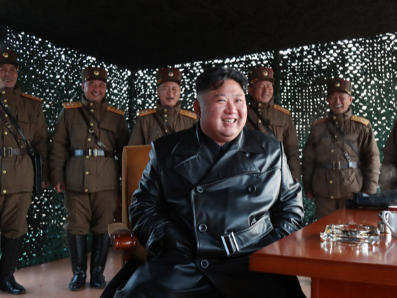 Top DPRK leader observes demonstration firing of tactical guided weapon