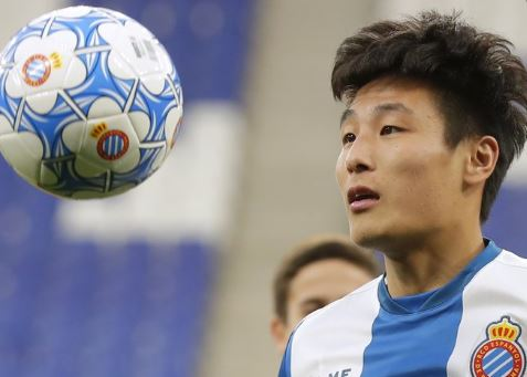 Chinese footballer Wu Lei feels good despite testing positive for COVID-19 in Spain