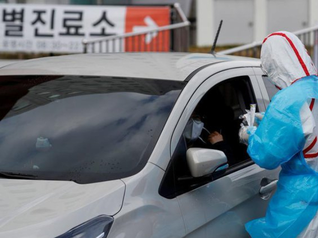 S.Korea reports 64 more COVID-19 cases, 8,961 in total