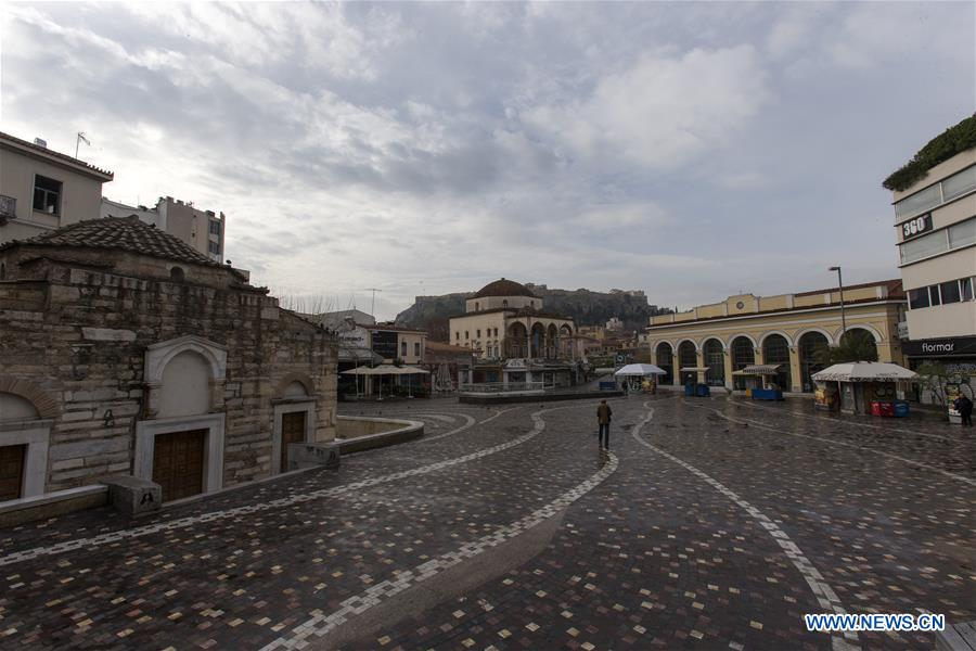 Greece proceeds to 14-day nationwide lockdown to contain novel coronavirus spread