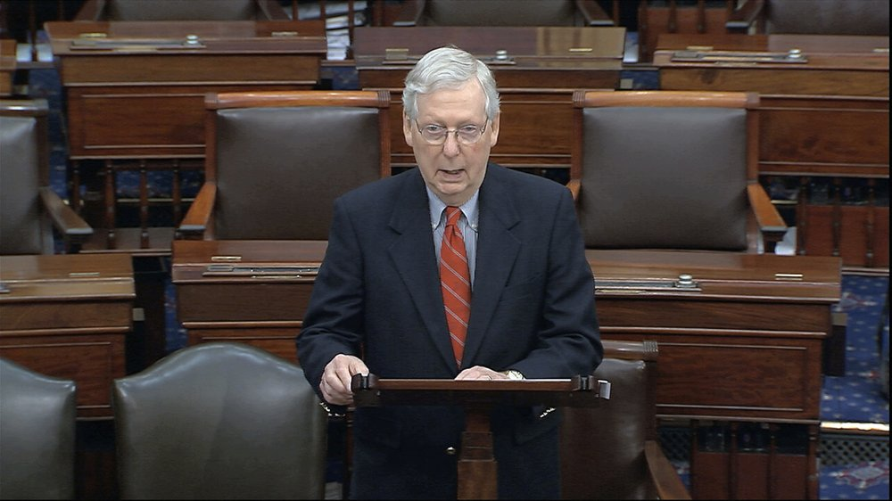 McConnell: 'Very close' on rescue package topping $1T