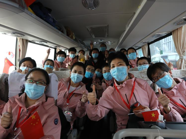 459 COVID-19 patients discharged from hospital on Chinese mainland