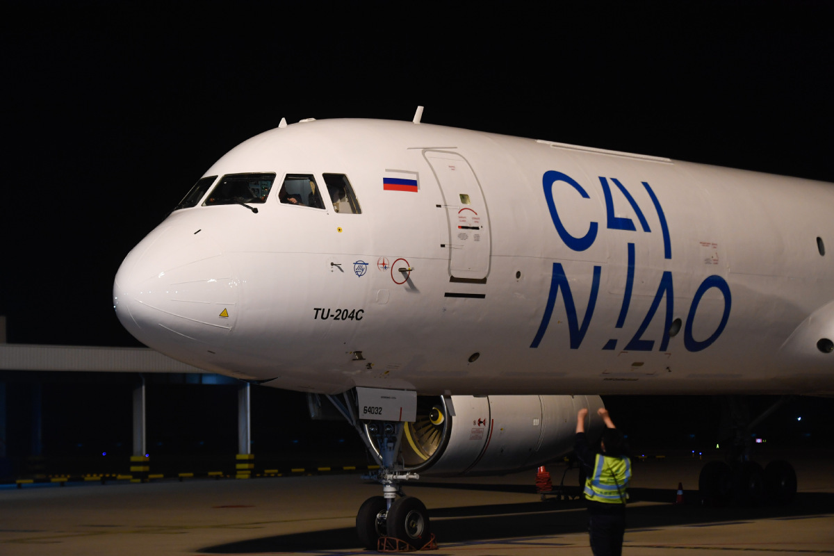 Cainiao air cargo flights to help businesses get back to work