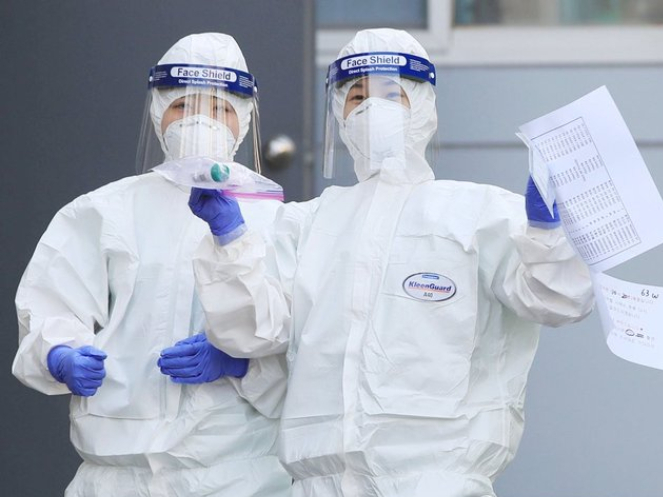 COVID-19 cases surpass 9,000 in S.Korea