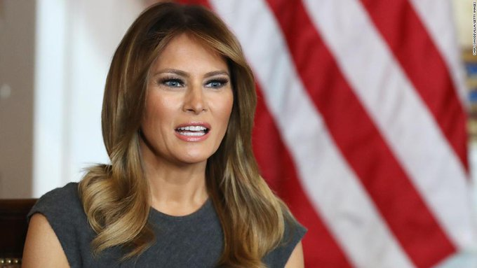 Trump confirms first lady tests negative for coronavirus