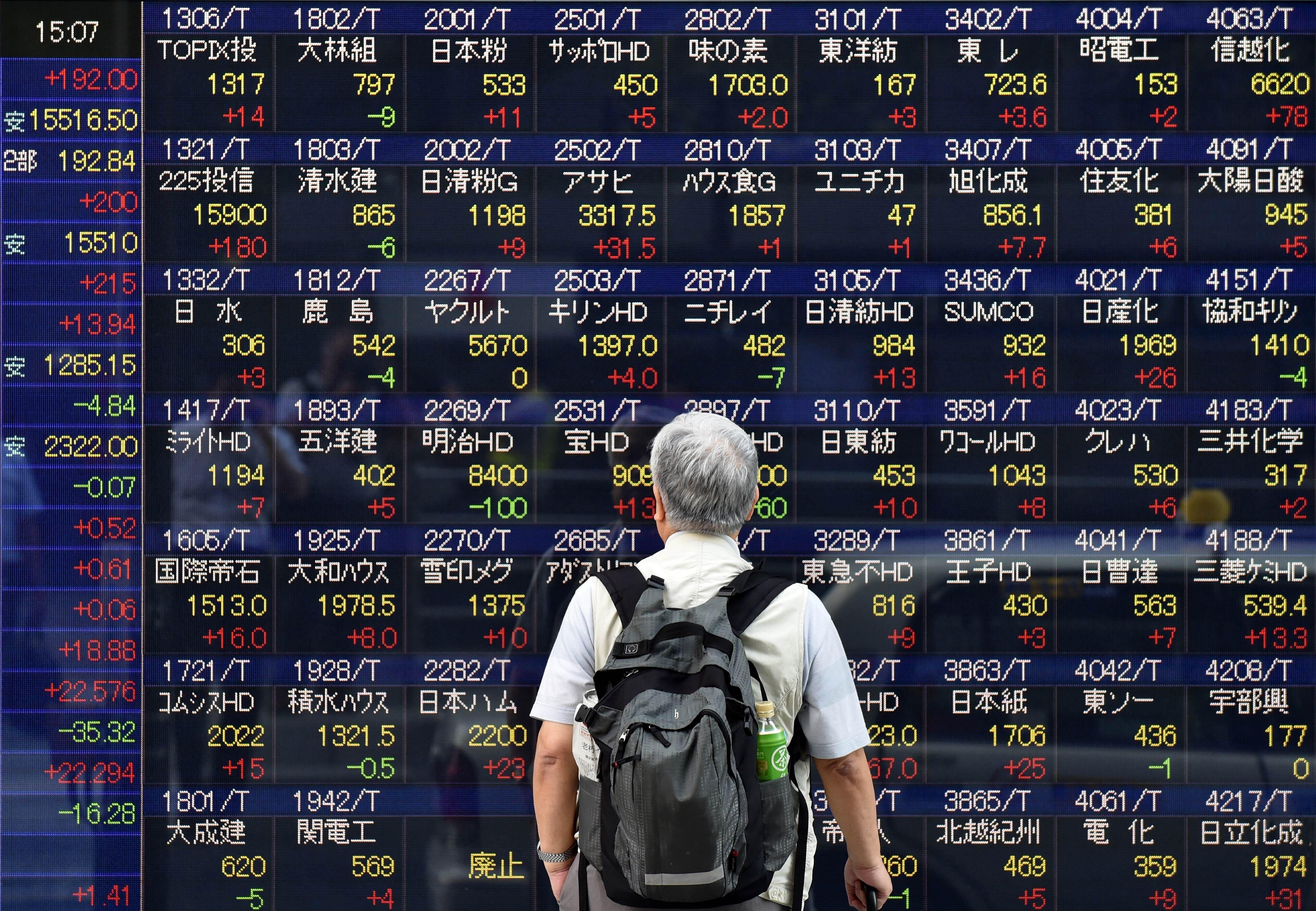 Tokyo stocks open sharply higher as yen's retreat lifts exporters