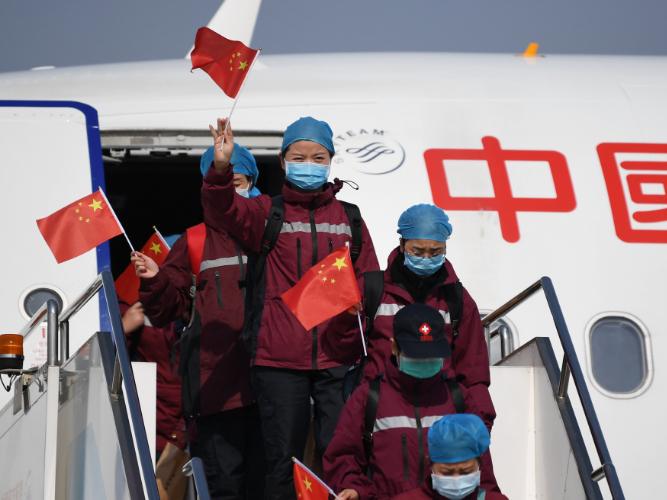 Shaanxi medical assistance team returns from Hubei