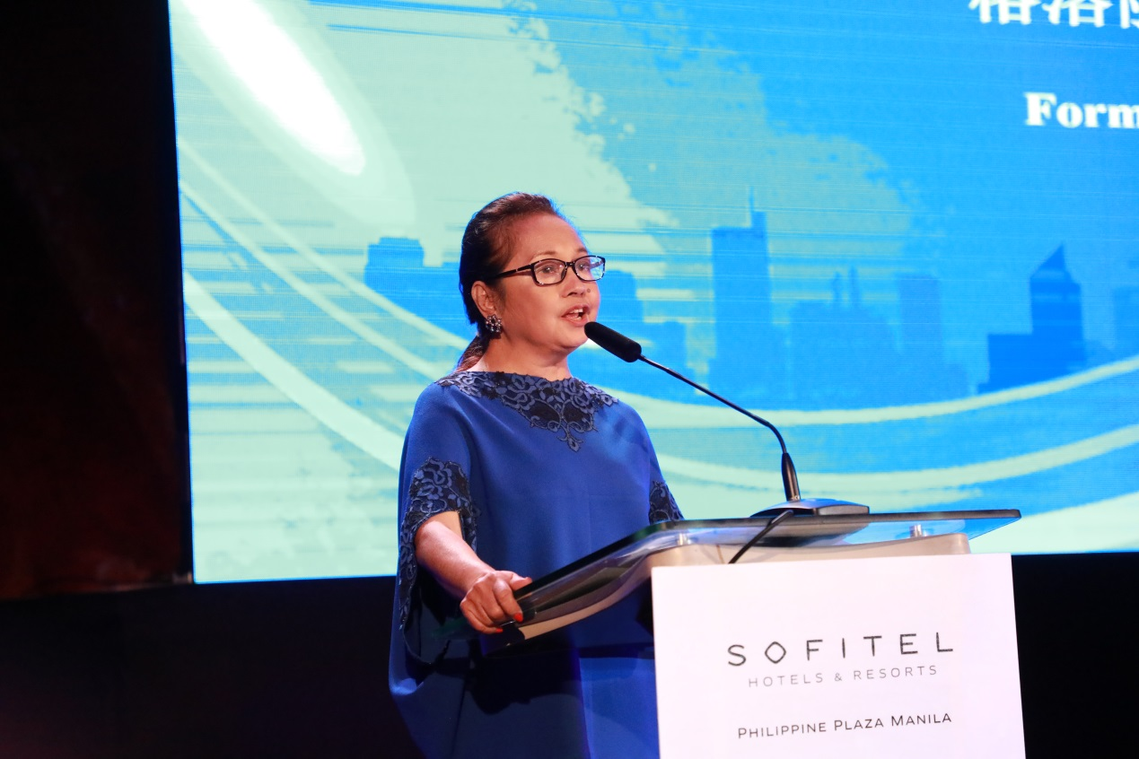 Former Philippine President Arroyo denounces blaming China for COVID-19