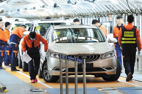 China mulls new measures to revive car market