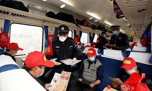 Beijing prepared for workers returning from unlocked Hubei