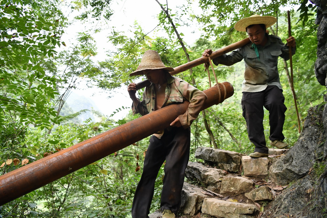 Guangxi boosts construction of water facilities to alleviate poverty