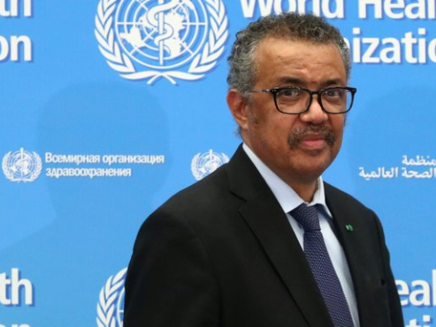 WHO chief appeals for G20 solidarity