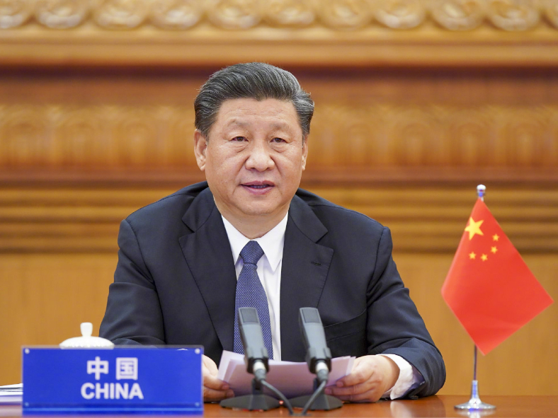 Xi calls on int'l community to strengthen confidence, act with unity on COVID-19