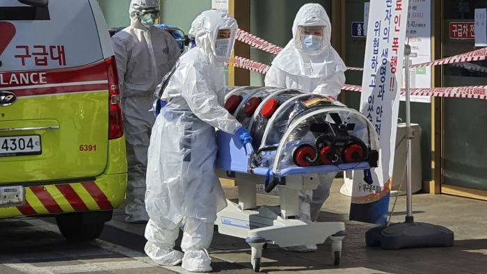 S.Korea reports 104 more COVID-19 cases, 9,241 in total