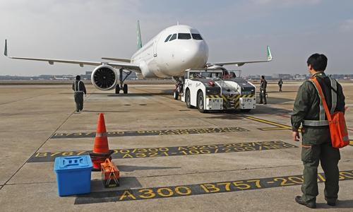 Global aviation crash landing