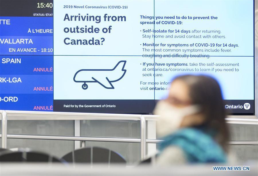 Canada imposes mandatory self-isolation for those returning