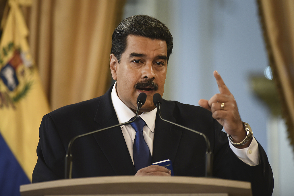 US charges Venezuelan leader with 'narco-terrorism'