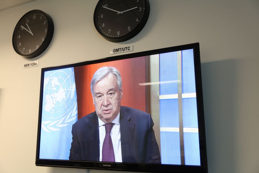 Guterres warns of losing COVID-19 war as UN agencies continue relentless efforts