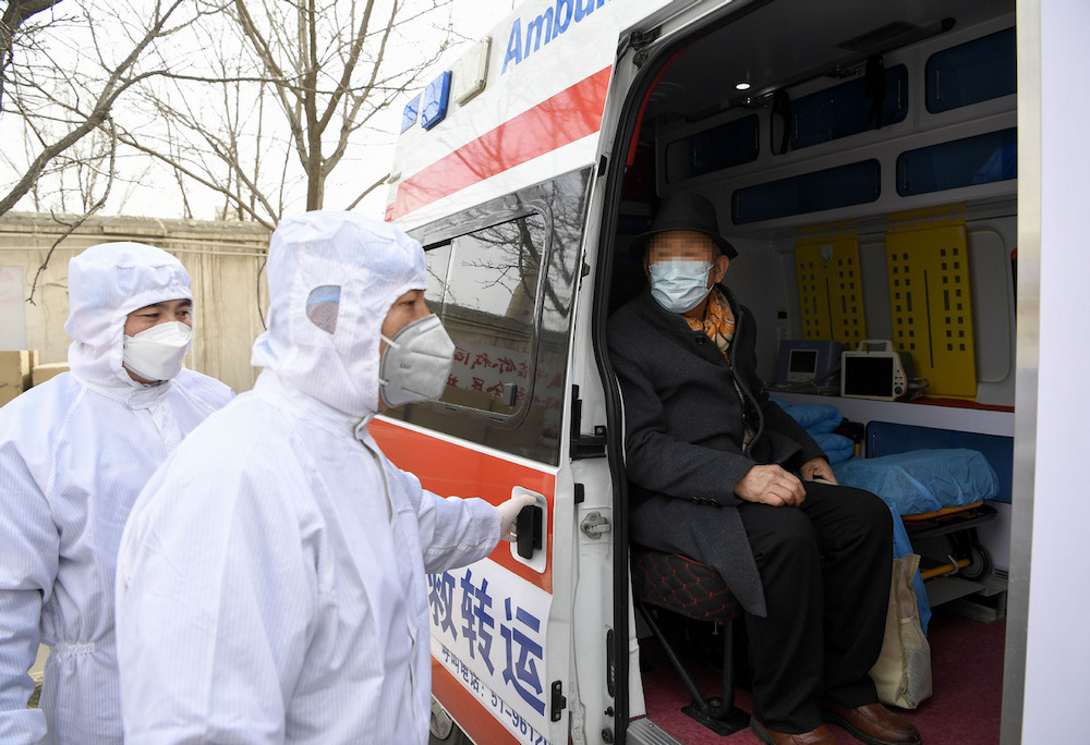 383 COVID-19 patients discharged from hospital on Chinese mainland