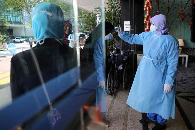 Malaysia reports 159 new COVID-19 cases,deaths rise to 27