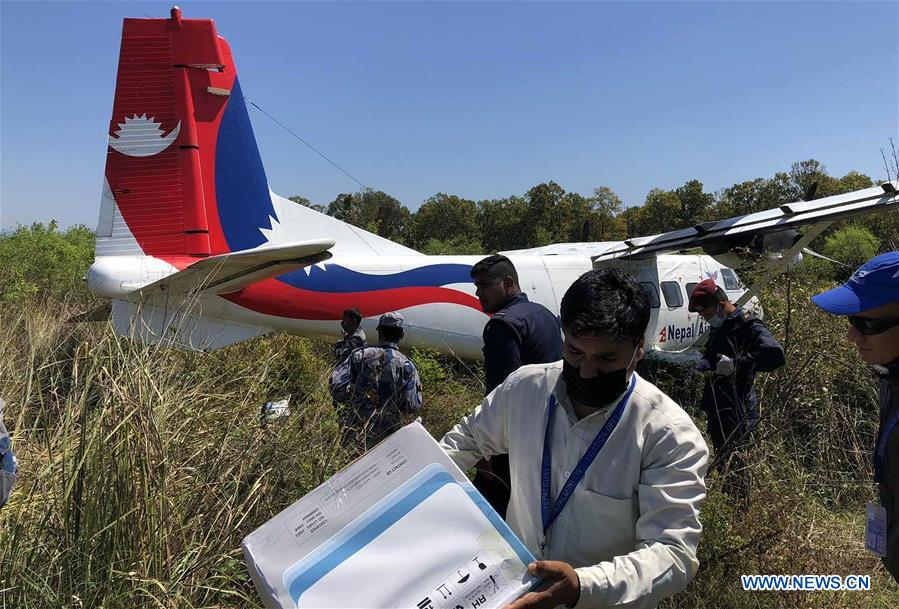 Nepal Airlines aircraft meets with accident while landing, all crew members safe