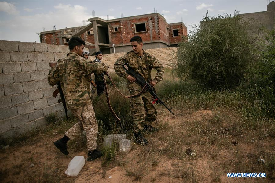 UN-backed GNA clashes with East-based LNA at Al-Ramla frontline in Tripoli