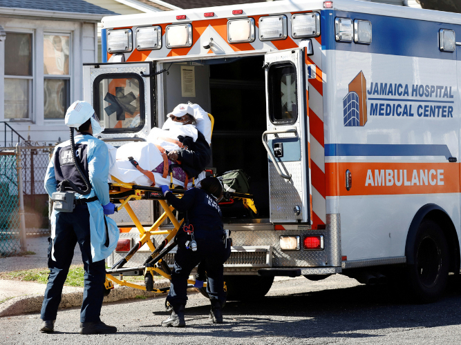 US reports more than 2,000 COVID-19 deaths - Johns Hopkins University