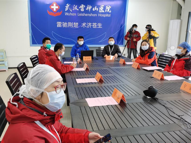 Experts in Wuhan give online lecture to overseas Chinese