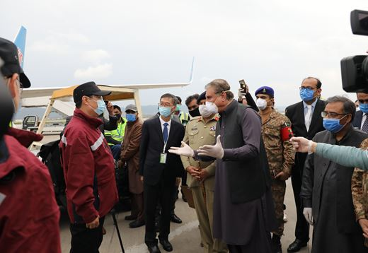 China sends medical team to support Pakistan's fight against COVID-19
