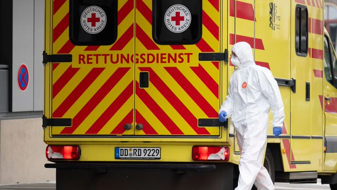 Germany tallies almost 57,300 confirmed COVID-19 cases