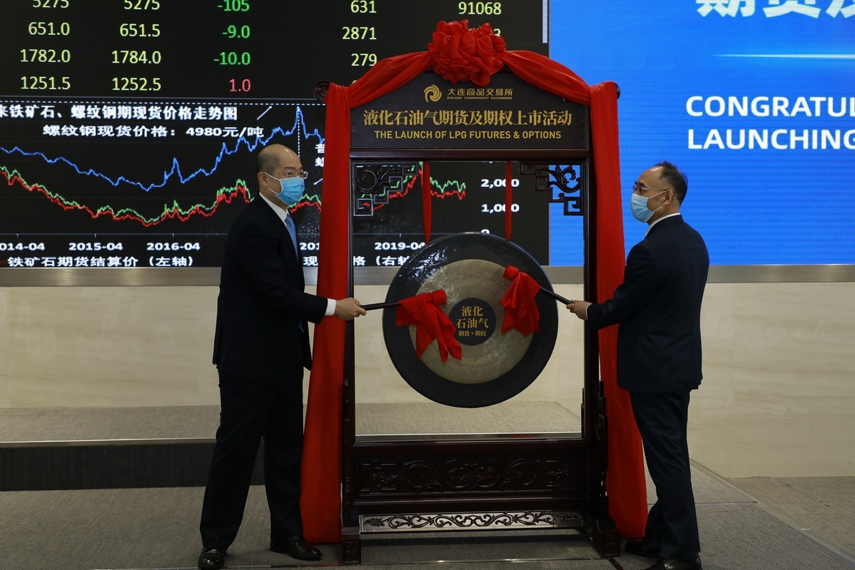 First gas energy derivatives listed on Dalian Commodity Exchange