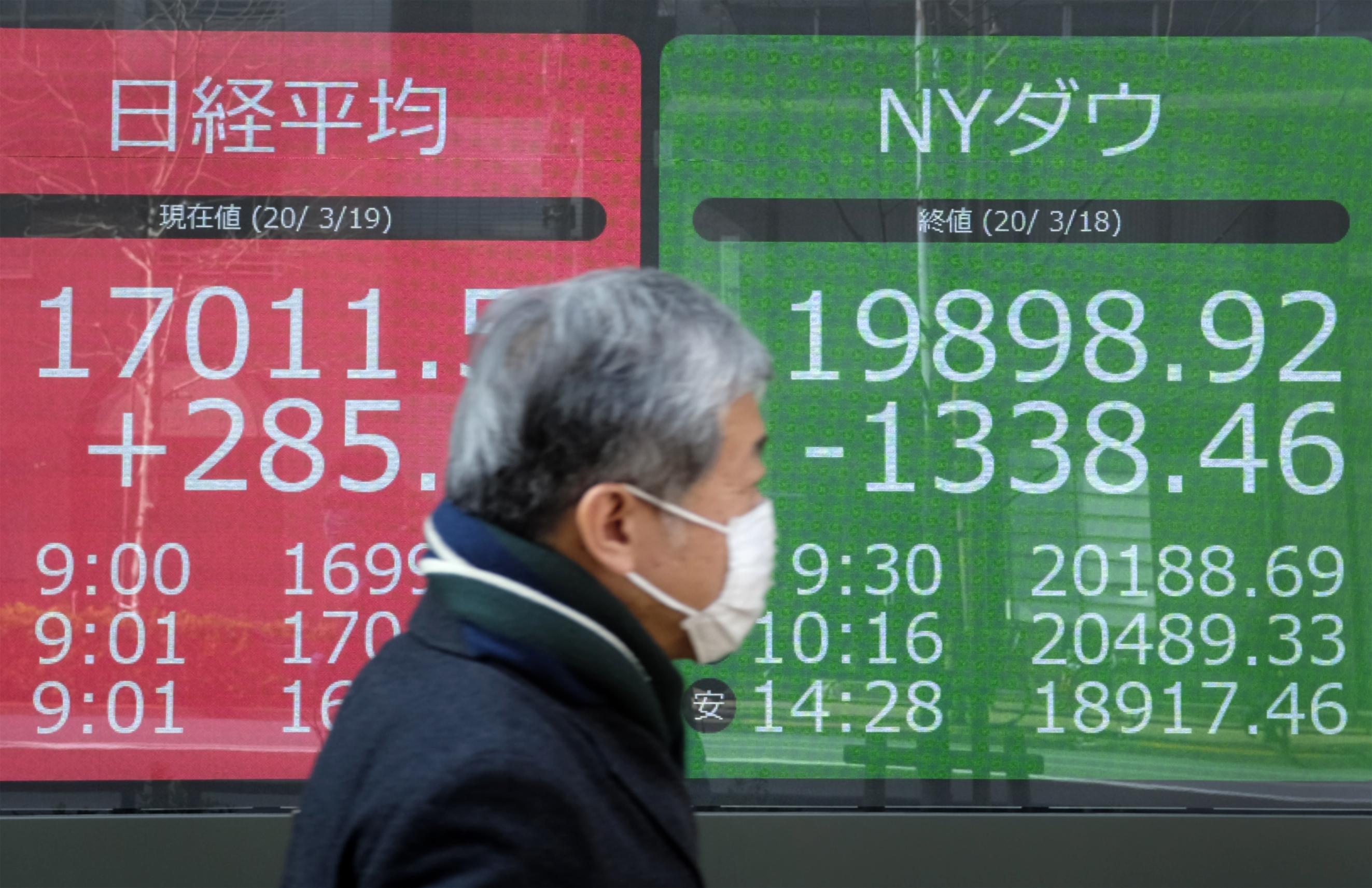 Asian markets resume losses as stimulus joy fades