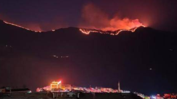 Over 2,000 sent to put out forest fire in China's Sichuan