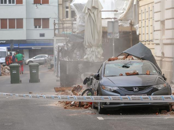 Earthquakes hit Croatian capital Zagreb with some 30 people injured