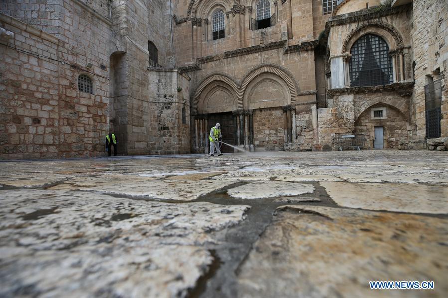 Daily life in Jerusalem's Old City amid coronavirus epidemic