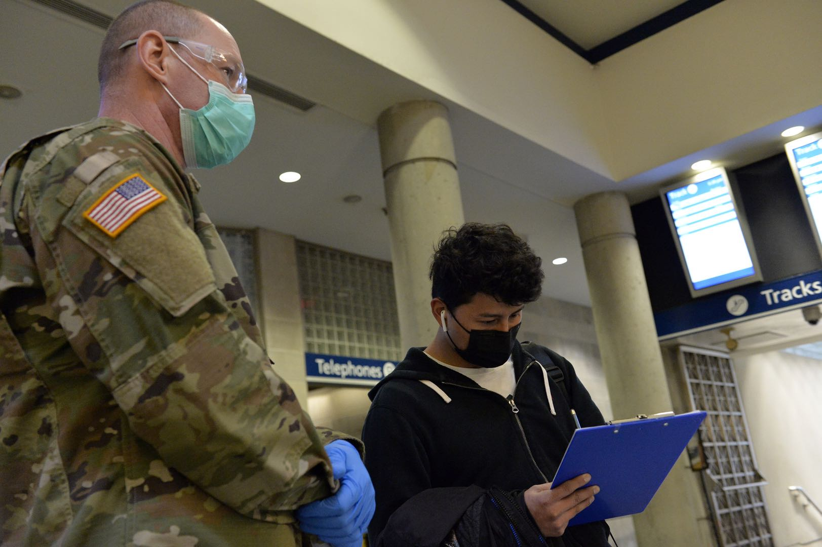 US confirmed first US military member to die from coronavirus