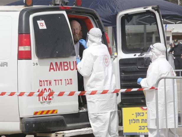 Number of novel coronavirus cases rises to 4,831 in Israel