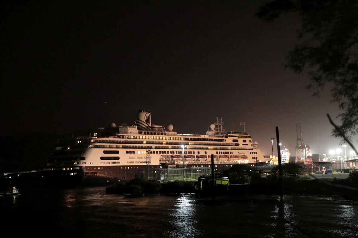 Coronavirus-hit cruise ship completes crossing Panama Canal