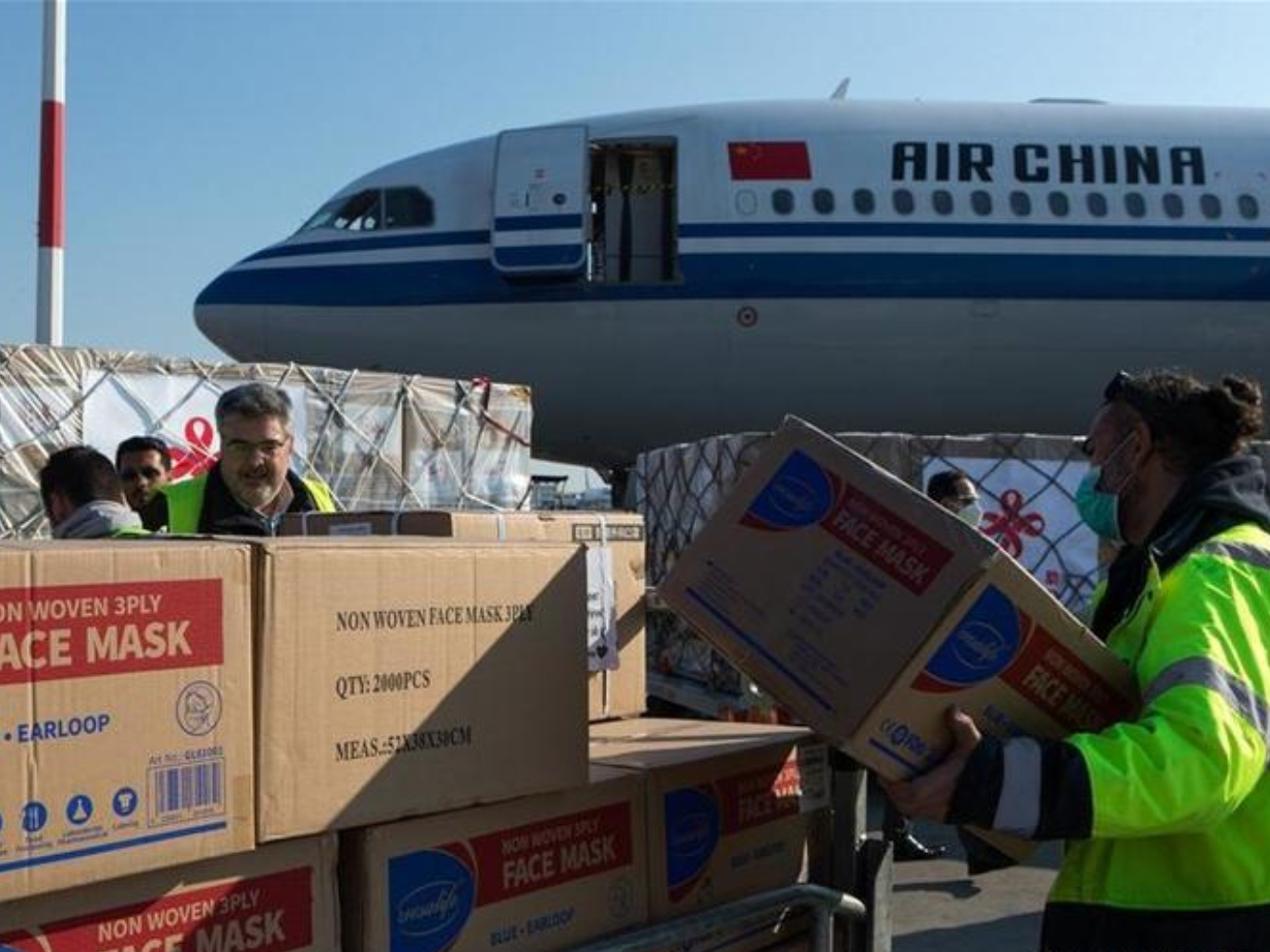 China rejects claims it is stockpiling medical supplies
