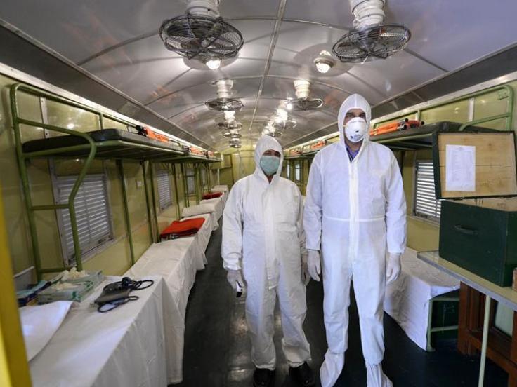 Train compartment converted into quarantine ward in E Pakistan