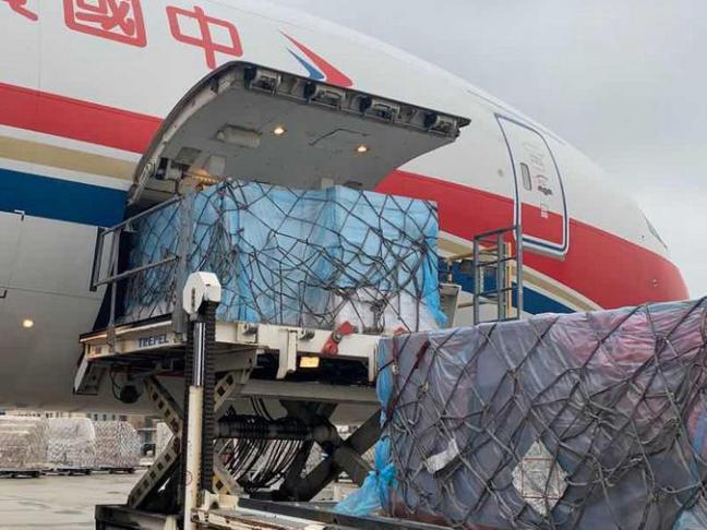 China's Heilongjiang donates masks to Japan's Niigata