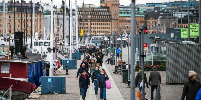 Denmark, Sweden economies expected to contract sharply