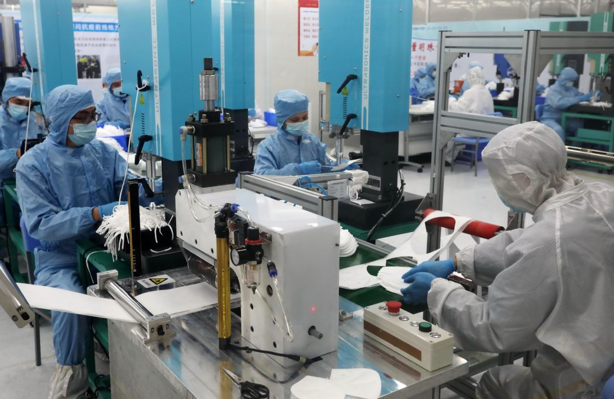 China vows to keep exporting protective materials