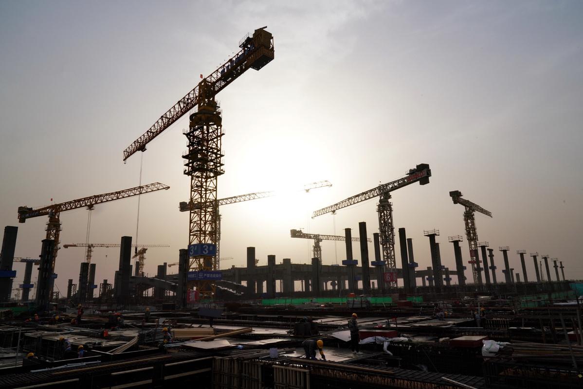 Transit construction resumes in Beijing