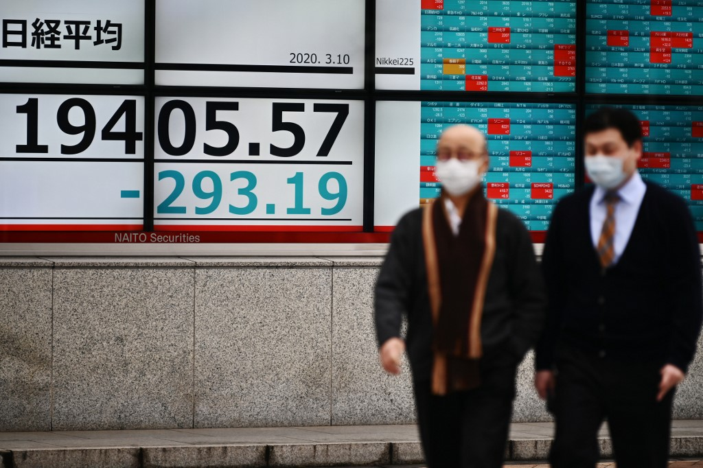 Tokyo's Nikkei closes down more than 4% on growing virus concern