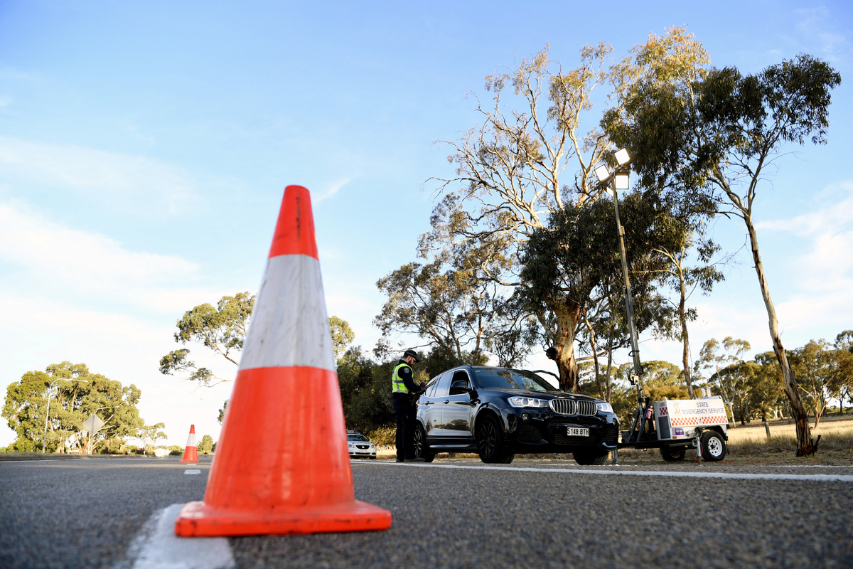 Aussie state sets up special police unit to enforce COVID-19 restriction rules