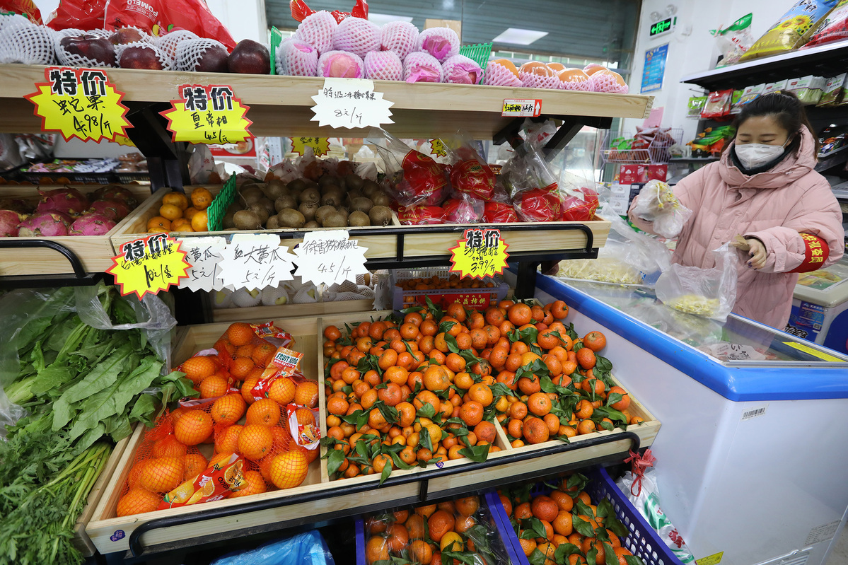 China's weekly farm produce prices edge down